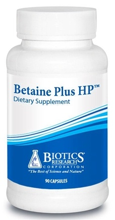 DROPPED: Biotics Research - Betaine Plus HP - 90 Capsules CLEARANCE PRICED