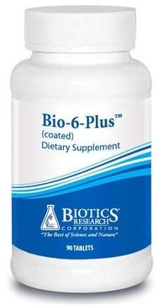 DROPPED: Biotics Research - Bio-6-Plus - 90 Tablets CLEARANCE PRICED