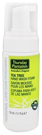 DROPPED: Thursday Plantation - Tea Tree Hand Wash Foam - 5.1 oz.