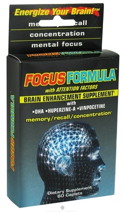 Zoom View - Focus Formula Brain Enhancement Supplement