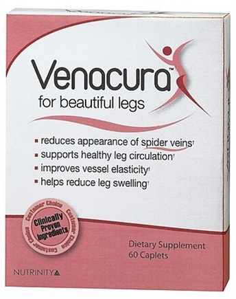 DROPPED: Venacura - Dietary Supplement For Beautiful Legs - 60 Caplets CLEARANCE PRICED