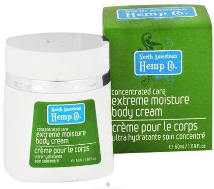 DROPPED: North American Hemp Company - Concentrated Care Extreme Moisture Body Cream - 1.69 oz. CLEARANCE PRICED