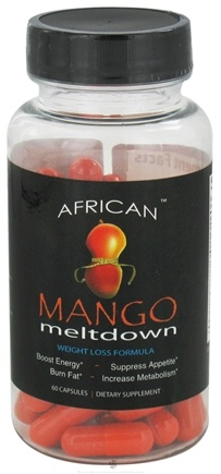 DROPPED: Lazer Health - African Mango Meltdown with Caralluma Fimbriata - 60 Capsules Formerly Core Health CLEARANCE PRICED