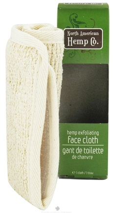 Zoom View - Hemp Exfoliating Face Cloth