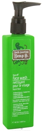 DROPPED: North American Hemp Company - Face Off Face Wash - 4.8 oz.