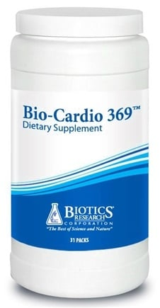 DROPPED: Biotics Research - Bio-Cardio 369 - 31 Pack(s) CLEARANCE PRICED