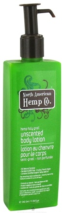 DROPPED: North American Hemp Company - Hemp Holy Grail Unscented Body Lotion - 11.56 oz.