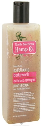 DROPPED: North American Hemp Company - Exfoliating Body Wash - 11.56 oz.