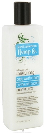 DROPPED: North American Hemp Company - Moisturizing Body Wash Cream - 11.56 oz.