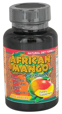 DROPPED: Fusion Diet Systems - African Mango Fusion - 60 Capsules