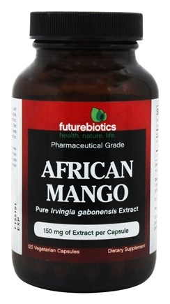 DROPPED: Futurebiotics - African Mango Pharmaceutical Grade 150 mg. - 120 Vegetarian Capsules