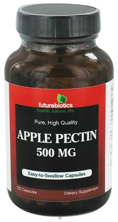 DROPPED: Futurebiotics - Apple Pectin Pure High Quality 500 mg. - 100 Capsules