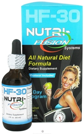 DROPPED: Fusion Diet Systems - HCG Fusion HF-30 All Natural Diet Formula - 2 oz.