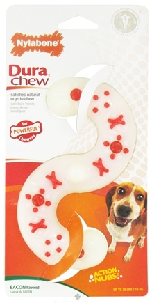 Zoom View - Dura Chew S Shape Wolf For Powerful Chewers Up To 35 lbs.