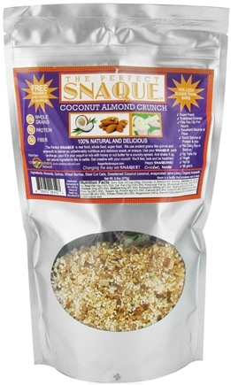 DROPPED: The Perfect Snaque - Coconut Almond Crunch - 9.5 oz.