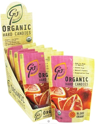 DROPPED: Go Naturally - Organic Hard Candies Blood Orange - 3.5 oz.
