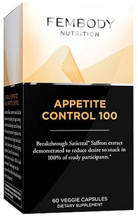 DROPPED: Fembody Nutrition - Appetite Control 100 Satiereal Saffron Extract - 60 Vegetarian Capsules