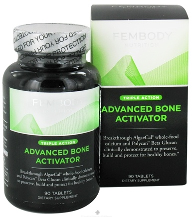 DROPPED: Fembody Nutrition - Advanced Bone Activator Triple Action - 90 Tablets