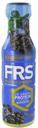 DROPPED: FRS Healthy Energy - All Natural Healthy Protein Blackberry Acai 25g Protein - 12 oz. CLEARANCE PRICED