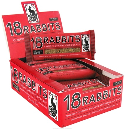 DROPPED: 18 Rabbits - Organic Granola Bar Cheeky Cherry Chocolate - 1.9 oz.