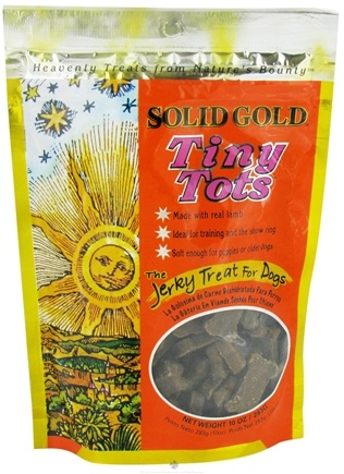 DROPPED: Solid Gold - Tiny Tots Jerky Dog Treats - 10 oz.