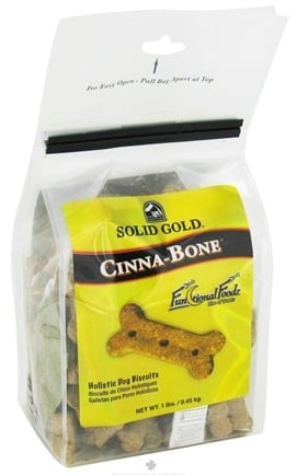 DROPPED: Solid Gold - Cinna-Bone Dog Treats - 1 lb.