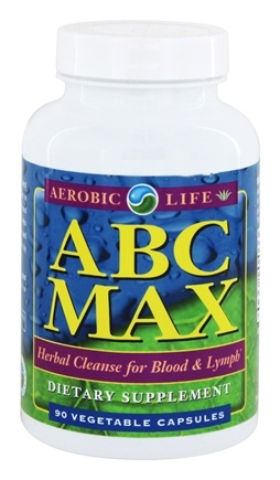 DROPPED: Aerobic Life - ABC MAX Herbal Cleanse for Blood and Lymph - 90 Capsules