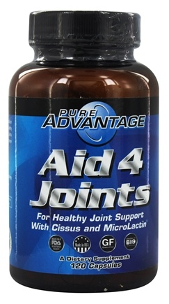 Pure Advantage - Aid 4 Joints with Cissus - 120 Capsules