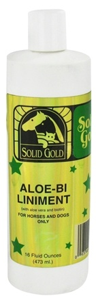 DROPPED: Solid Gold - Aloe Bi-Liniment For Horses And Dogs - 16 oz. CLEARANCE PRICED