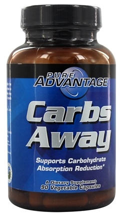 DROPPED: Pure Advantage - Carbs Away with White Kidney Bean Extract - 90 Softgels