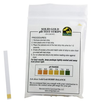 DROPPED: Solid Gold - pH Test Strips - 50 Count