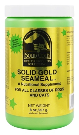 DROPPED: Solid Gold - SeaMeal For All Classes Of Dogs And Cats - 8 oz.