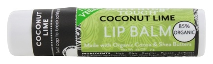 Soothing Touch - Lip Balm with Organic Cocoa & Shea Butters Coconut Lime - 0.25 oz. LUCKY PRICE