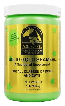 DROPPED: Solid Gold - SeaMeal For All Classes Of Dogs And Cats - 1 lb.
