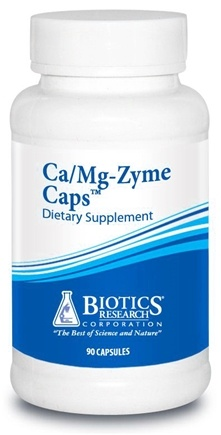 DROPPED: Biotics Research - Ca/Mg-Zyme Caps - 90 Capsules CLEARANCE PRICED