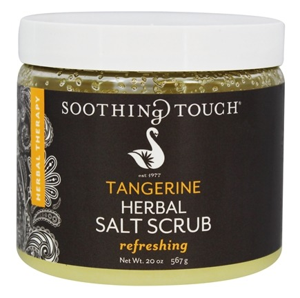 Soothing Touch - Herbal Salt Scrub Refreshing Tangerine - 20 oz. LUCKY PRICE