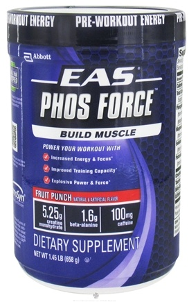 DROPPED: EAS - PhosForce Fruit Punch - 1.45 lbs.