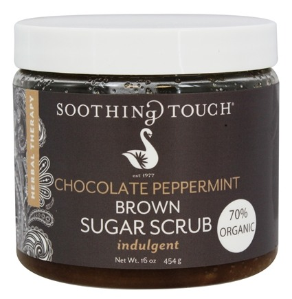 Soothing Touch - Brown Sugar Scrub Indulgent Chocolate Peppermint - 16 oz. LUCKY PRICE