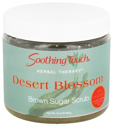 DROPPED: Soothing Touch - Brown Sugar Scrub Desert Blossom - 16 oz. CLEARANCE PRICED