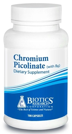DROPPED: Biotics Research - Chromium Picolinate with Vitamin B6 - 100 Capsules CLEARANCE PRICED