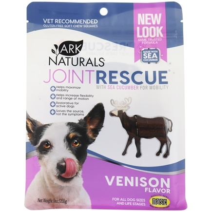 Ark Naturals - Sea Mobility Joint Rescue Jerky Strips For Dogs Venison - 9 oz.