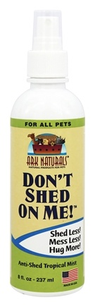 Ark Naturals - Don't Shed On Me! Anti-Shed Tropical Spray - 8 oz.