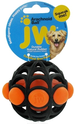 DROPPED: JW Pet Company - Arachnoid Ball Small Dog Toy
