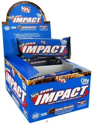 DROPPED: VPX - Zero Impact High Protein Meal Bar German Chocolate - 3.5 oz.