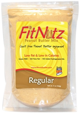 DROPPED: FitNutz - Peanut Butter Mix Regular - 5 oz.