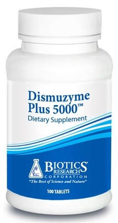DROPPED: Biotics Research - Dismuzyme Plus 5000 - 100 Tablets CLEARANCE PRICED