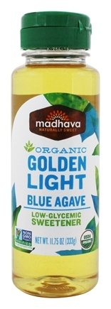 DROPPED: Madhava - Organic Golden Light Blue Agave - 11.75 oz.