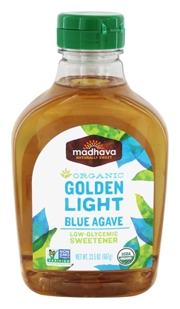 Madhava - Organic Golden Light Blue Agave - 23.5 oz.