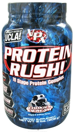 DROPPED: VPX - Protein Rush 10 Stage Protein Complex Cookies & Cream - 2 lbs.