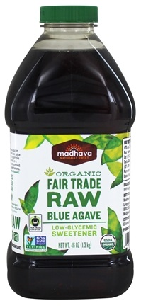 Madhava - Organic Fair Trade Raw Blue Agave - 46 oz.